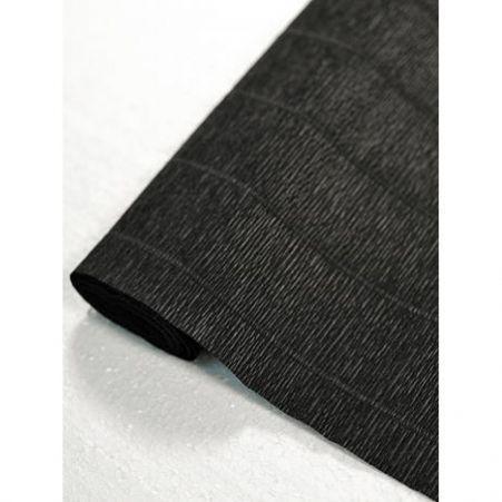602 Гофробумага  50*250 см (чёрный )