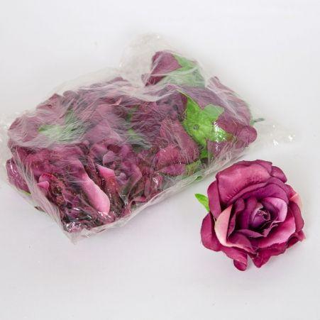 406/0006BL Голова розы 12 шт