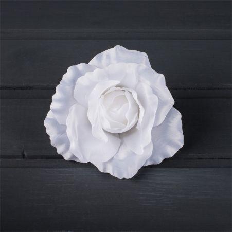 406/0077В Роза сатиновая голова(в уп.12 шт.)