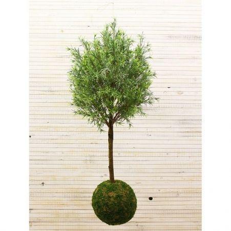 ККДД120/202 Кокедама d-23 Дерево декор.узк.лист(патина) h-120см