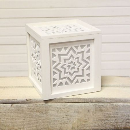 "816/06-5(Sale) Куб с подсветкой ""Геометрия"" 14*14*14"