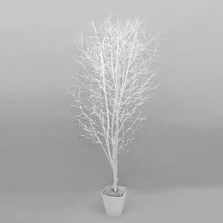 200Пр/Р/173 Дерево заснеженное h200см