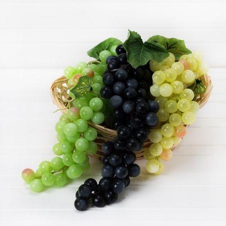 715/20027 Гроздь винограда в ас-те (30см)