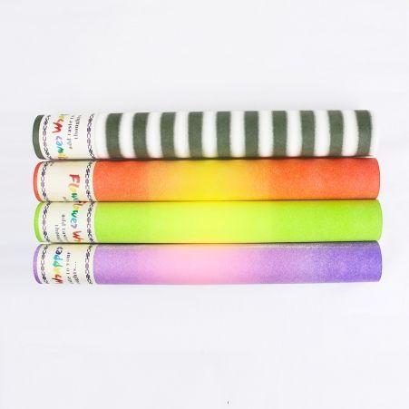 Фетр с переходом(Sale) цвета в асс-те 50см*15м (Г)