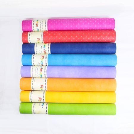 Фетр однотоный (Sale) цвета в асс-те 50см*15м (Г)