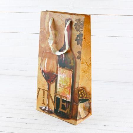 0018ЛП Пакет лам. п/2 бутылки (35х18х9)(12шт/уп)