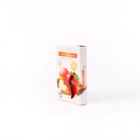 Свеча арома, гильза (6 шт.) Р15-87, jabl/cynam