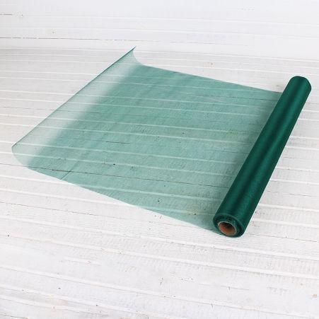 Органза(Sale) 36-40см*9м(тём. зелёная) (L)