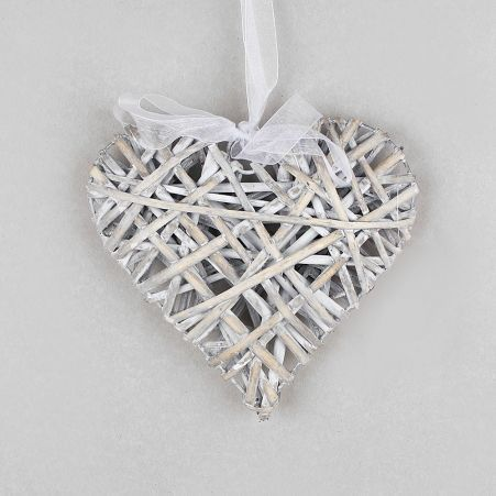 39/0020Р(Sale) Сердце плетеное 20см