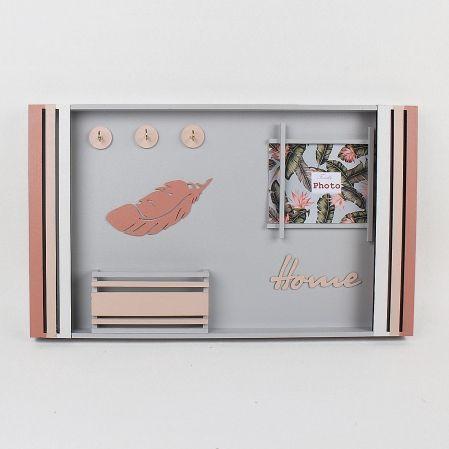 """803/013-2 Ключница-органайзер (50*h30см)(Коллекция""""Фламинго"""")"""