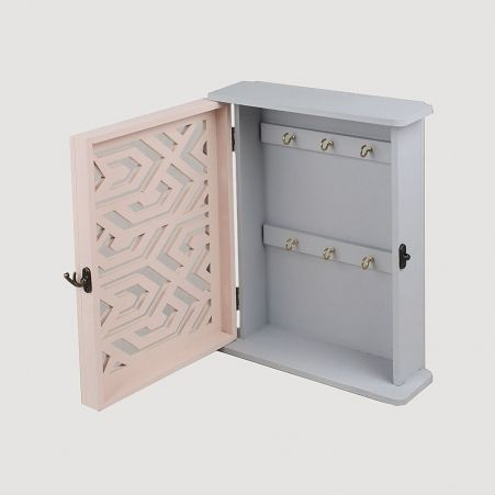 806/019-2 Ключница с орнаментом Коллекция Фламинго  (22*h-27см)