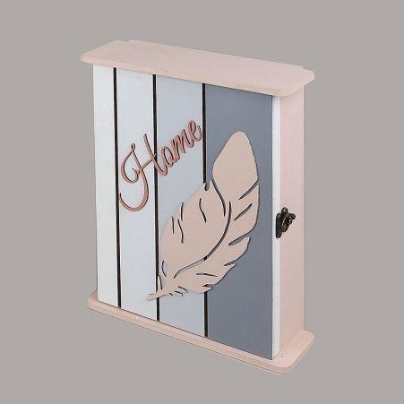"806/019-3(Sale) Ключница ""Фламинго"" перо 210*70*260мм"