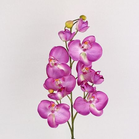 401/0438-8А Орхидея искусственная h-84см сиреневая (3в 10г)