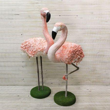 БТФ03 Фламинго розов. №1 h126/133