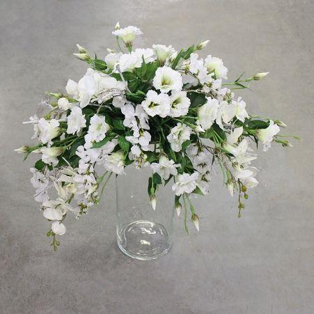 К264-1(з.) Композиция в стекл.вазе h-70см (90см*55