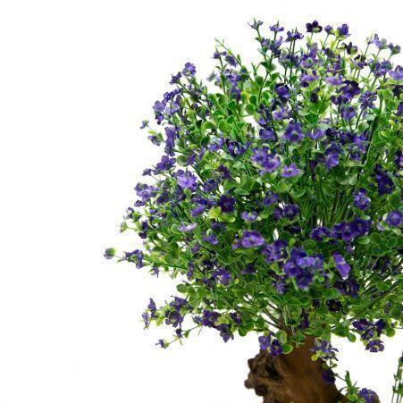 БЦ55/05 (П) Бонсай цветущий Самшит (фиолетовый)h55см