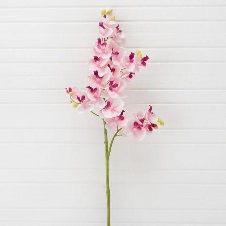 401/0230-1A Орхидея искусственная h 70см розовая