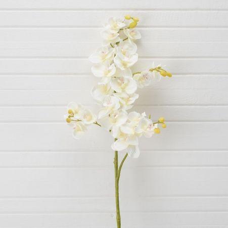 401/0230-4A Орхидея искусственная h 70см кремовая