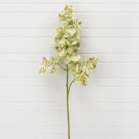 401/0230-9A Орхидея искусственная h 70см зеленая