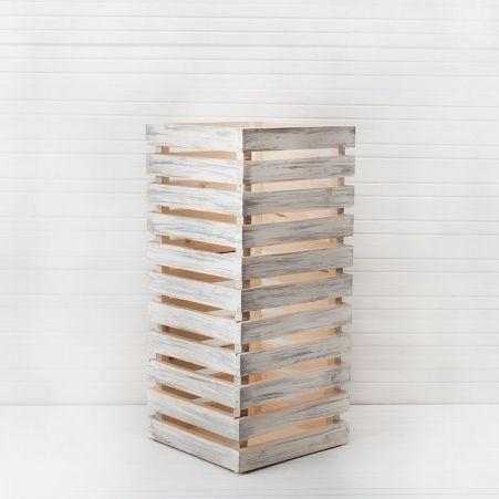 811/08-3 Ящик деревянный 30*30*h-66