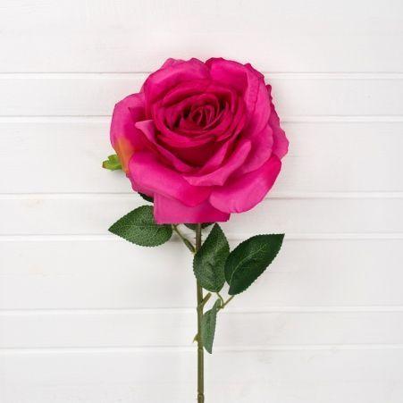 7141/0045-1/15 Роза h-58см (малиновая)