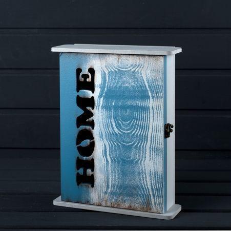 "806/024-2(Sale) Ключница ""Хоум"" (Синяя коллекция)(21х7х27)"