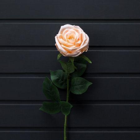 401/0003-13L Роза искусственная персиковая