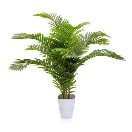 П150/К/49-1(з.) Пальма кустовая h150см(латекс) в интерьерном кашпо