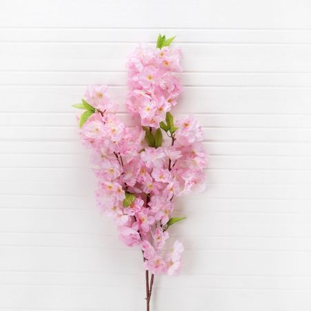 7143/0041-2/1Р Ветка сакуры (розов.) h-107см