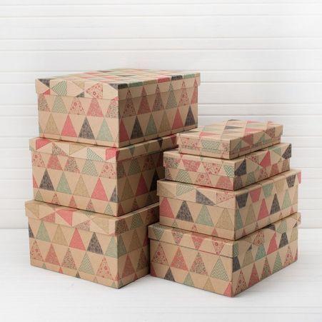 ККПК/7 Комплект коробок  прямоуг. Крафт  из 7-ми