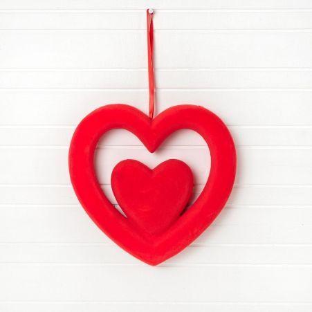 31/3084м (Sale) Сердце подвес 24х24см