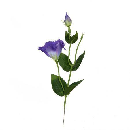 401/0357-17A Эустома искусственная h 47см фиолетовая