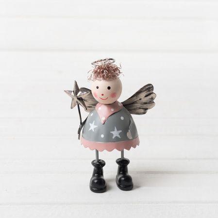 743/89091 IRIS(Sale) фигура ангел металл 10*6см