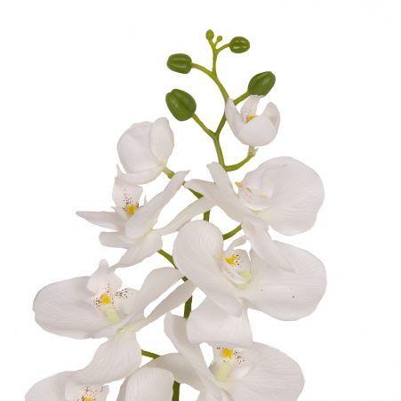 401/0008-23L Орхидея сатиновая h95см (белая)