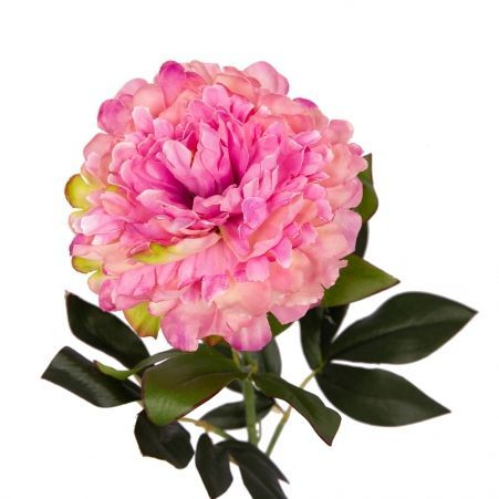 401/0232-16B Пион h78см (сиренево-розовый)