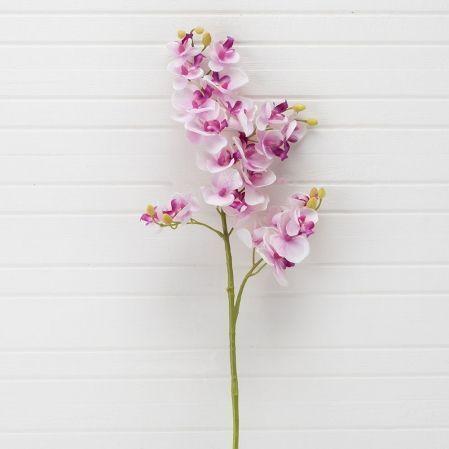 401/0230-8A Орхидея искусственная h 70см сиреневая