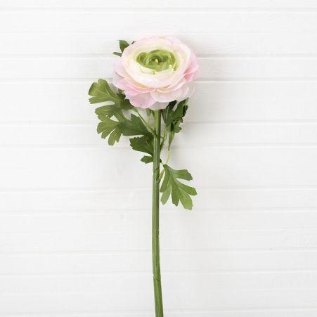 401/0522-1А Ранункулюс искусственный розовый h 60см