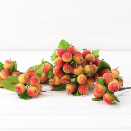 736/0599-5 Пика с яблочками h14см (12шт/уп)