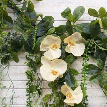 Л07 Лиана с орхидеей L100см
