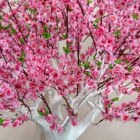 320разб/46-2/1 Сакура розовая разборная ствол белый (шир. кроны 200см) h 320
