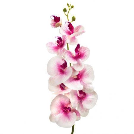 401/0187-1В Орхидея искусственная латекс h 95см розовая (9г.)