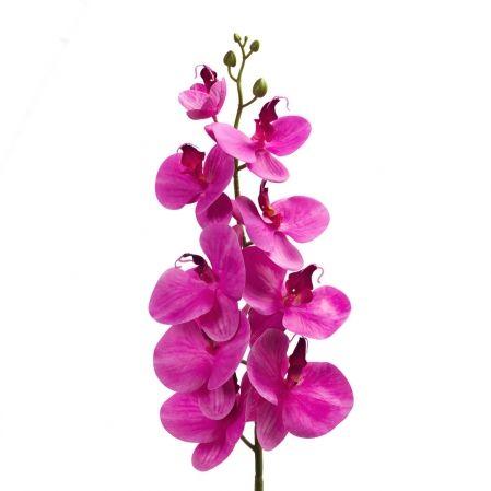 401/0187-7В Орхидея искусственная латекс h 95см цикламен (9г.)