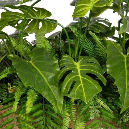 К326 Тропический микс  в кокосовом боксе (латекс) 120*20*h 10см