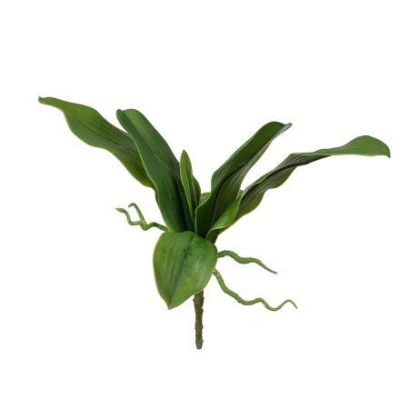 403/0553А Лист для орхидеи искуственный латекс h 40см