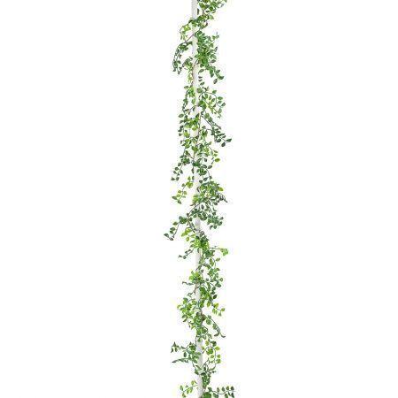 404/0049В Гирлянда зеленая пластик h 150см