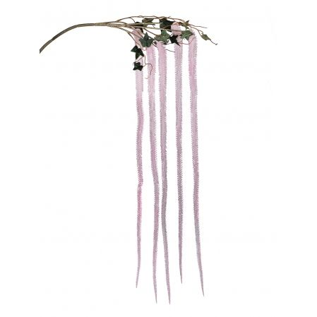 7143/0030-10/1(Promo) Ветка Амаранта искусственная, розовая, h 150 см (75+75)