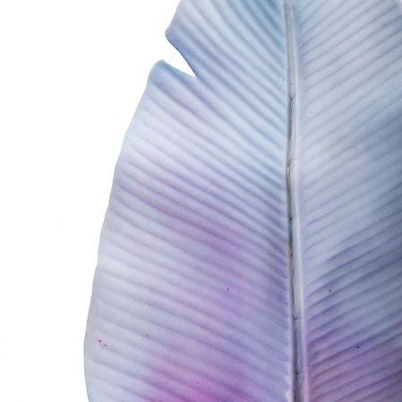 7143/0030-9/10(Promo) Лист Банана искусственный, голубой, h 92 см (45+47)