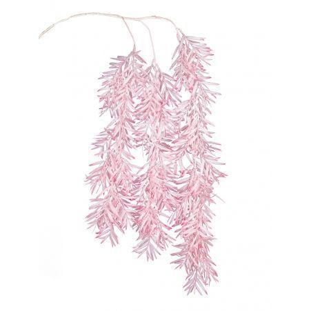 7143/0041-4/1 Ветка Розмарина ампельная искусственная, розовая, h 100 см (70+30)