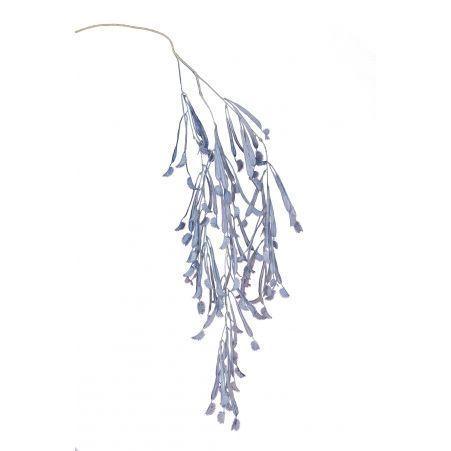 7143/0047-4/10(Promo) Куст Дионея (венерина мухоловка) искусственный, голубой, h 106 см (68+38)