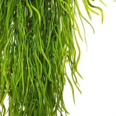 КС79 Трава ампельная зеленая в кашпо